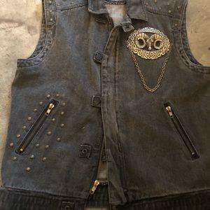 Other - Vintage denim vest